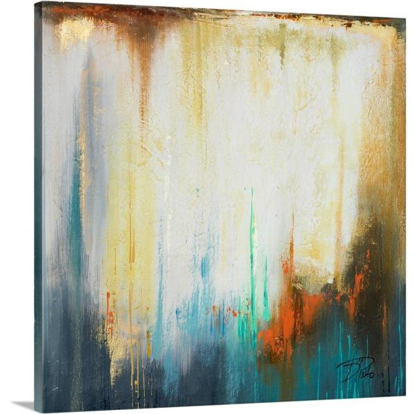 ''Illusion II'' by  Patricia Pinto Canvas Wall Art