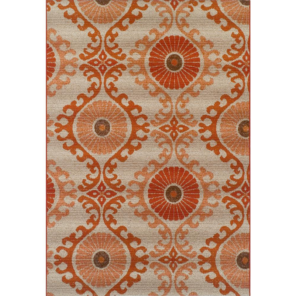 Addison Rugs Tucson 2 Paprika 8 Ft. 2 In. X 10 Ft.  Area Rug
