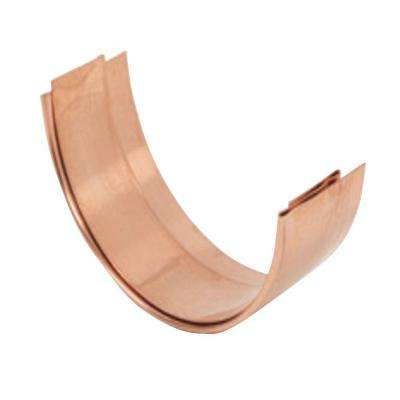 5 in. Half Round Copper Slip Connector