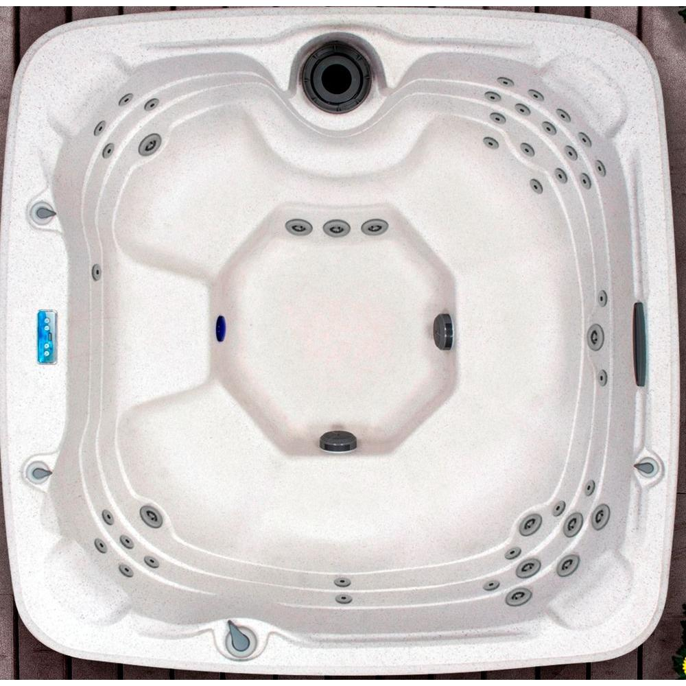 Lifesmart Coronado Rock Solid Series 7-Person Spa with 40 Jets Includes Free Delivery