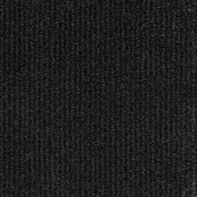 QuietWall 108 sq. ft. Black Acoustical Noise Control Textile Wall Covering and Home Theater Acoustic Sound Proofing
