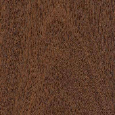 Take Home Sample - Matte Jatoba 3/8 in. Thick Click Lock Hardwood Flooring - 5 in. x 7 in.