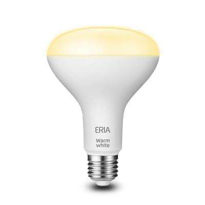 ERIA 65-Watt Equivalent BR30 Dimmable CRI 90+ Wireless Smart LED Flood Light Bulb Soft White