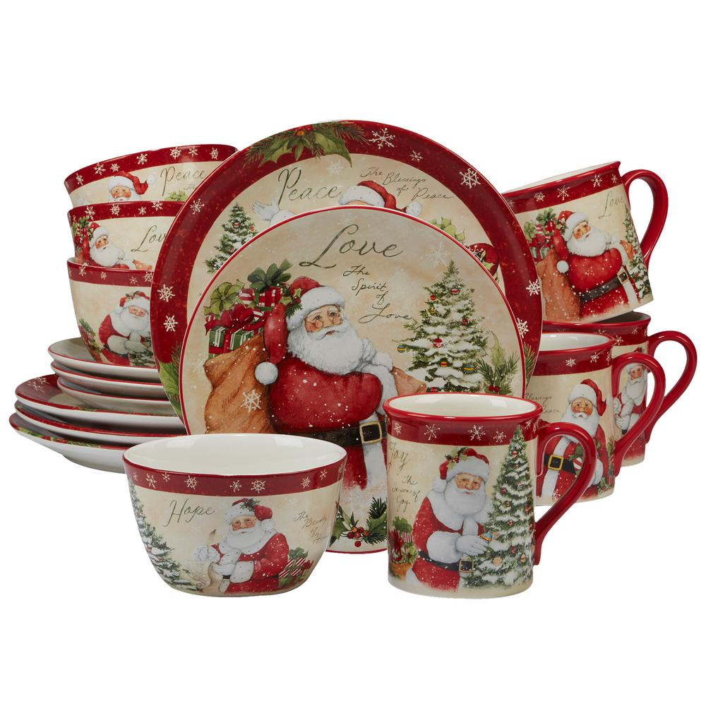 Certified International Holiday Dinnerware