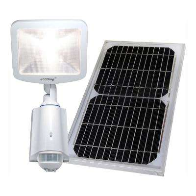 180 Solar Ed Cree Led Outdoor Indoor Smart Security Safety Flood Spot Parking Lot Bicycle Path Light