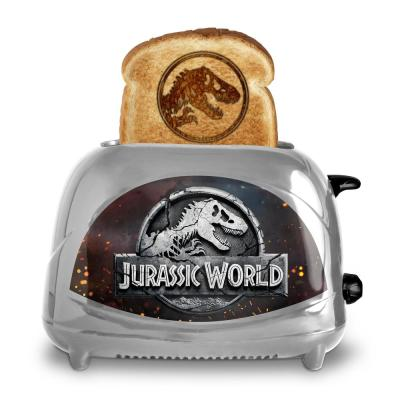 Jurassic World Fallen Kingdom Toaster Silver