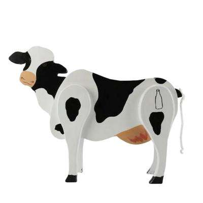 Ms. Cow Wooden Candy Dispenser Funny Toy Poops Candy