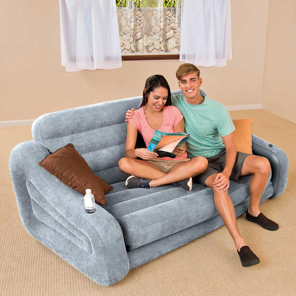 Intex Inflatable 2 In 1 Pull Out Sofa
