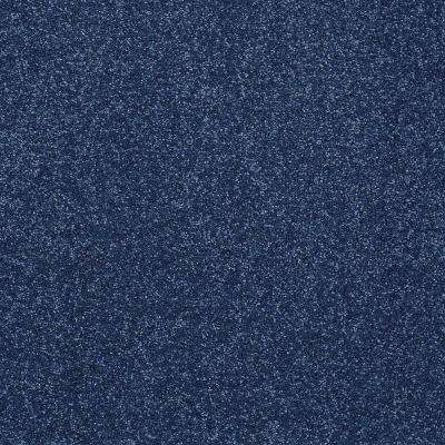 Carpet Sample - Joyful Whimsey - In Color Denim Jeans 8 in. x 8 in.