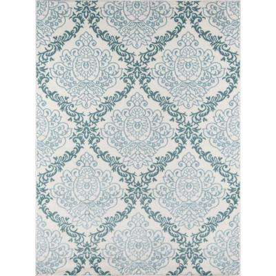 Brooklyn Heights Ivory 3 ft. 11 in. X 5 ft. 7 in. Indoor Area Rug