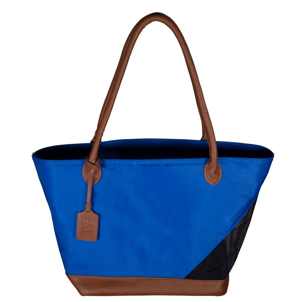 Pet Gear 11.25 in. x 8.5 in. x 10 in. Ultramarine Tote Bag