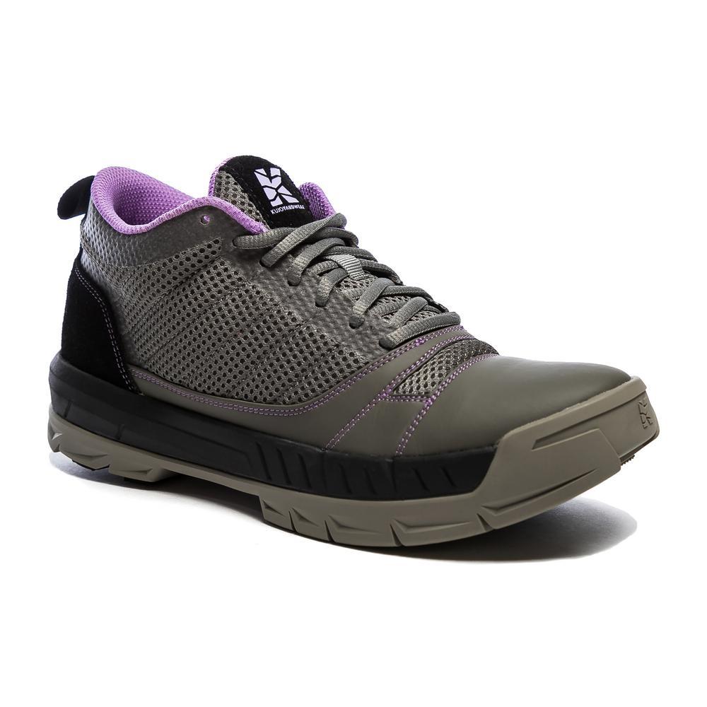 Grey/Purple Size 8(M