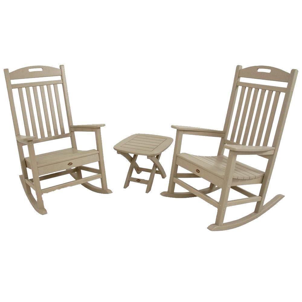 Trex Outdoor Furniture Yacht Club Sand Castle 3-Piece Pat...