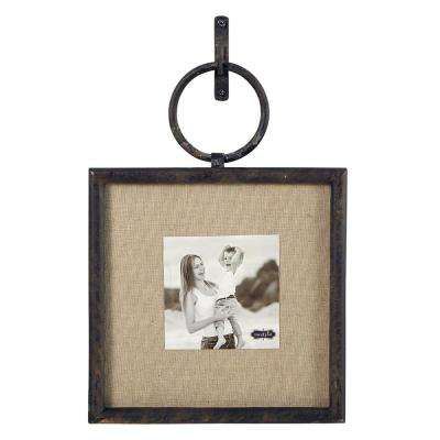 Cast Iron 4 in. x 4 in. Square Vertical Loop Frame