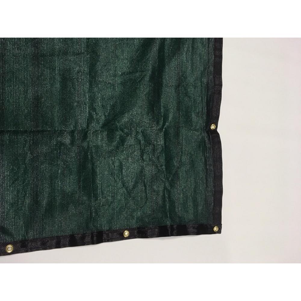 92 in. H x 600 in. W High Density Polyethylene Green Privacy/Wind Screen Fencing