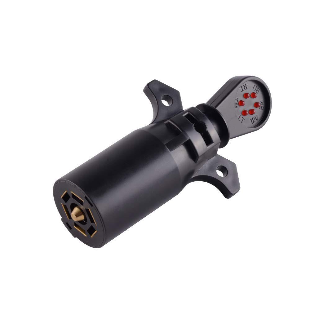 7-Way Trailer Plug Tester 1 per pack