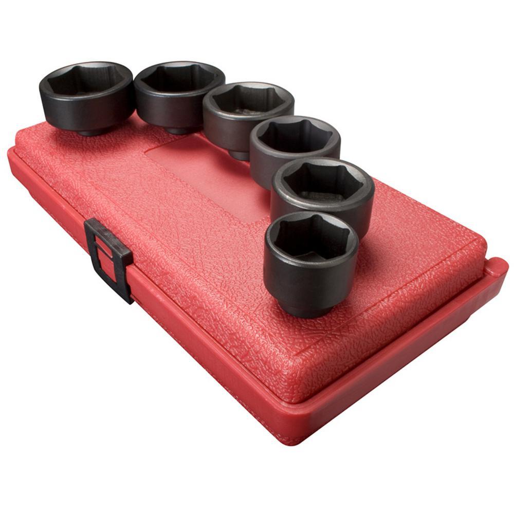 sunex 3 8 in drive oil filter socket set 6 piece. Black Bedroom Furniture Sets. Home Design Ideas