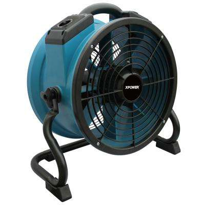1/4 HP 1720 CFM 13 in. Variable Speed Sealed Motor Professional Industrial Axial Fan with 3-Hour Timer