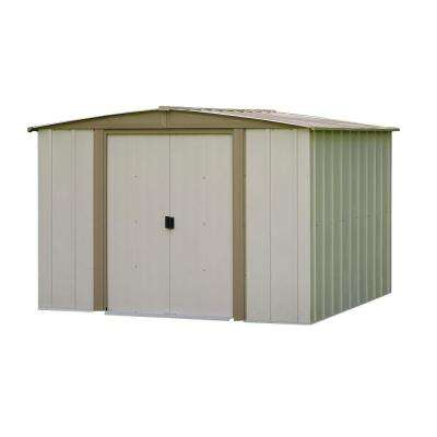 Bedford 8 ft. x 8 ft. Steel Storage Shed