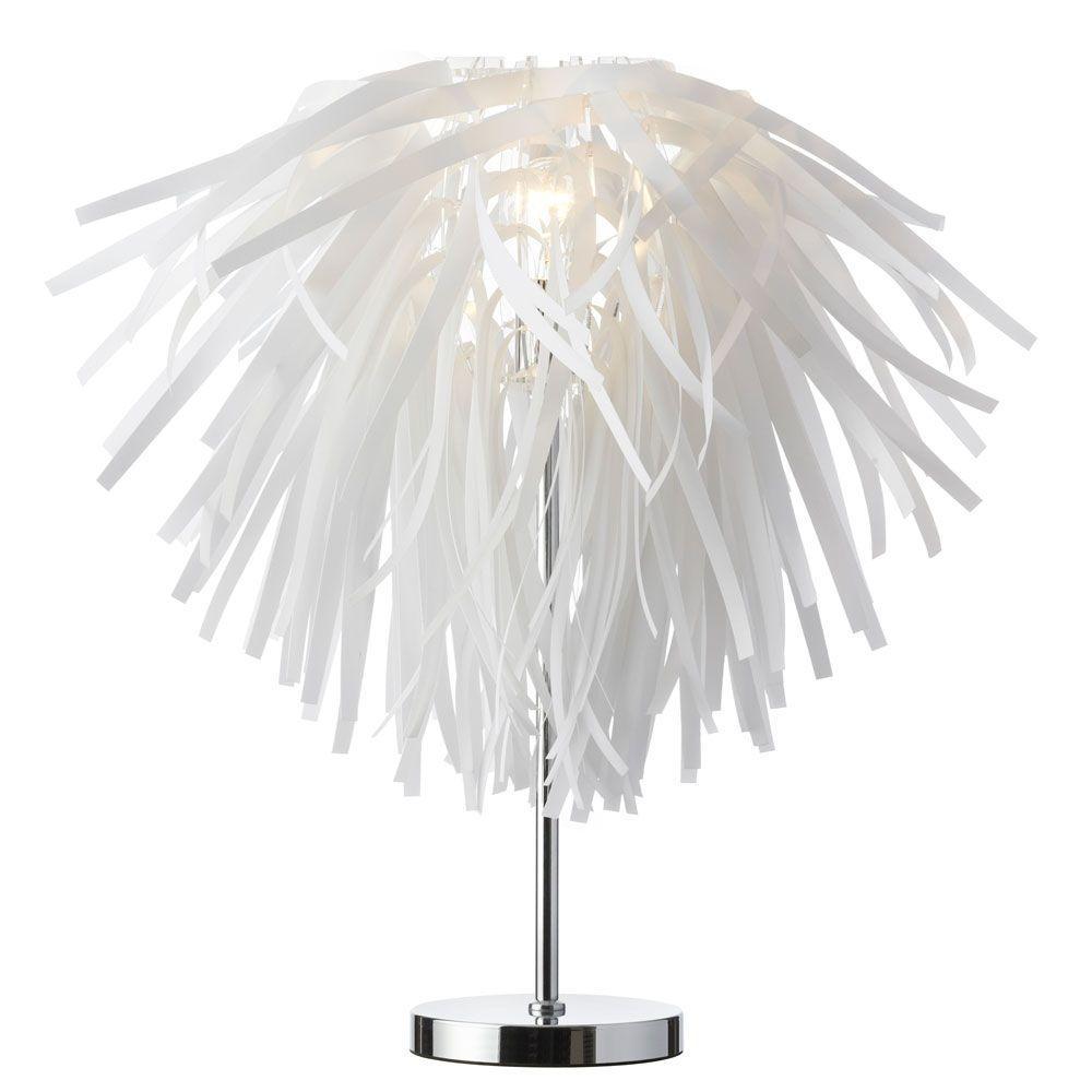 Artis 20 in. White Desk Lamp