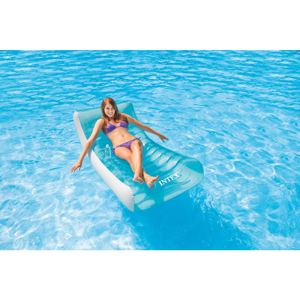 Intex Rockinu0027 Lounge Swimming Pool Chair  sc 1 st  Home Depot & Intex Rockinu0027 Lounge Swimming Pool Chair-58856EP - The Home Depot