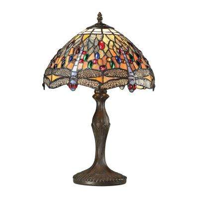 Macquarie Collection 19 in. Dark Bronze Table Lamp