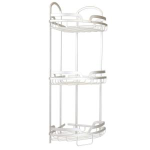 Home Basics Shower Caddy in Aluminum by Home Basics
