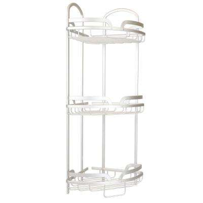 Shower Caddy in Aluminum