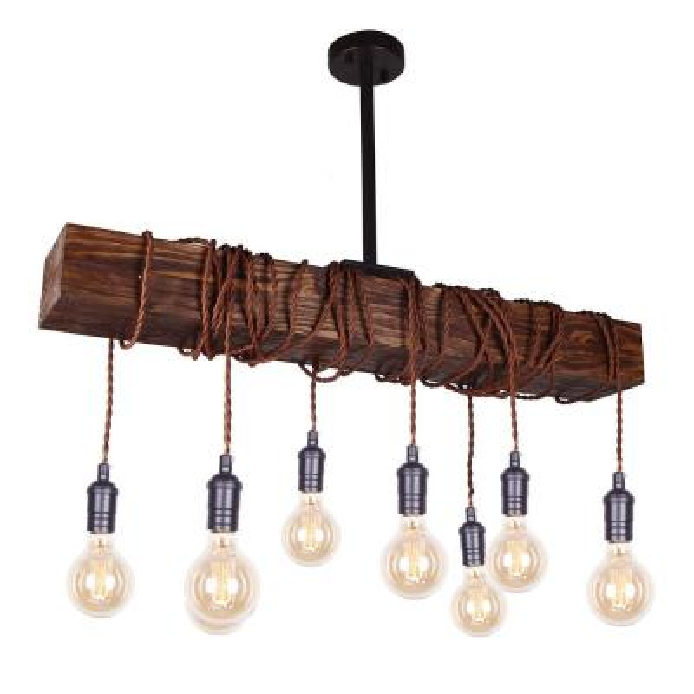 Belz 8-Light Kitchen Island Bulb Pendant