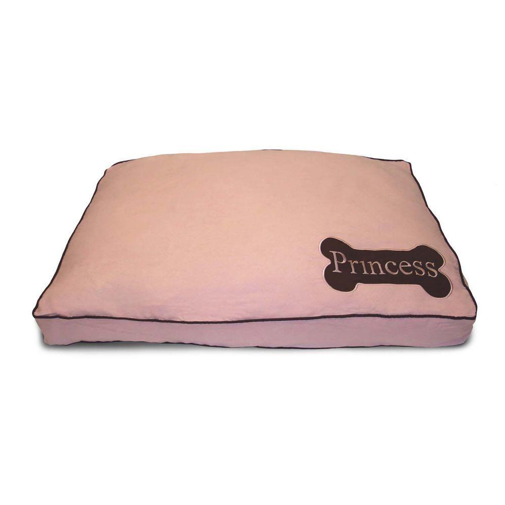 Home Fashions International Princess Mini Dog Bone Pink Pet Bed