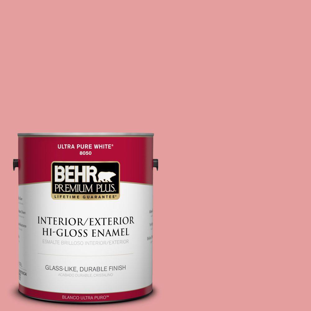 1-gal. #150D-4 Pale Berry Hi-Gloss Enamel Interior/Exterior Paint