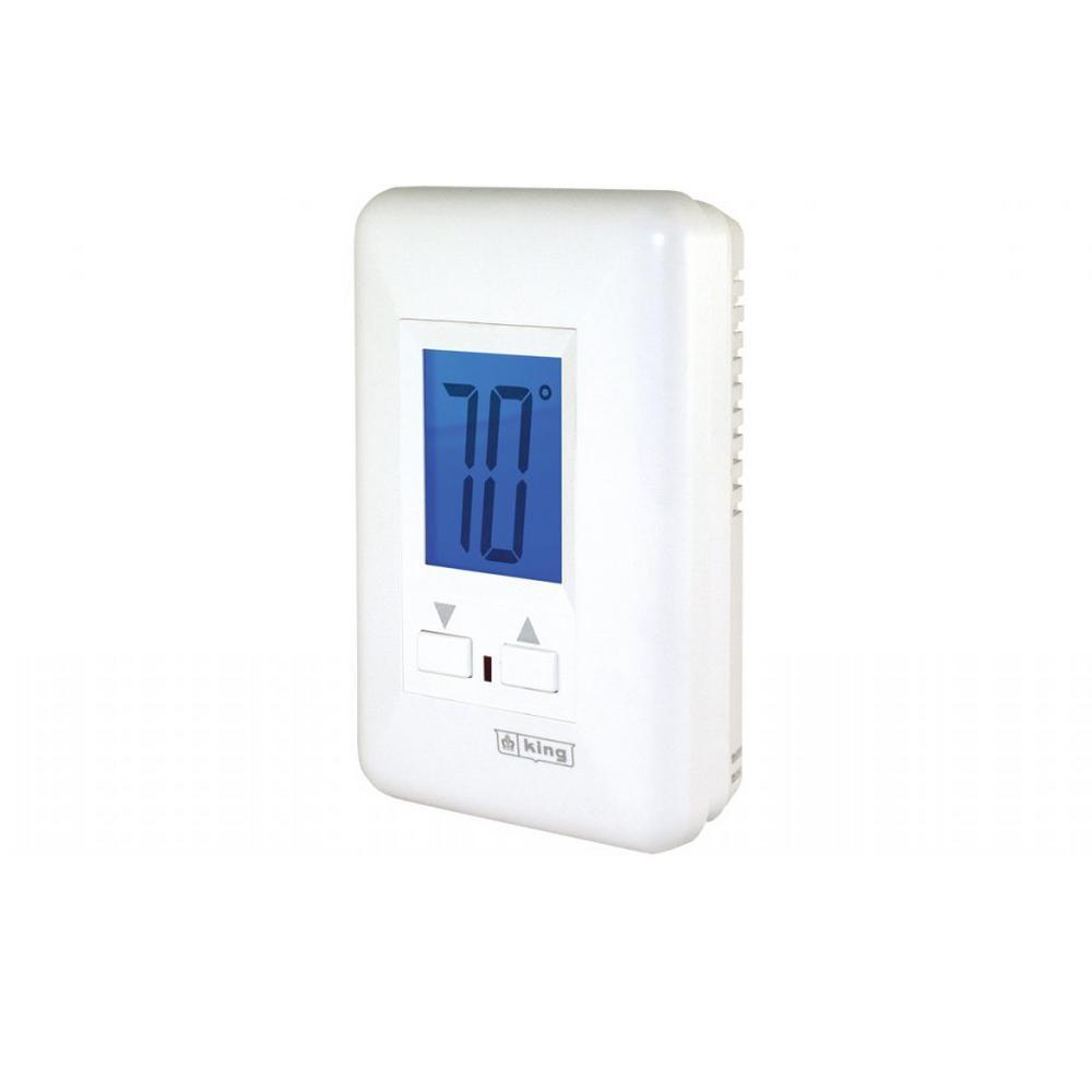 Tremendous King Electric Electronic Line Voltage Single Pole Thermostat Non Wiring 101 Louspimsautoservicenl