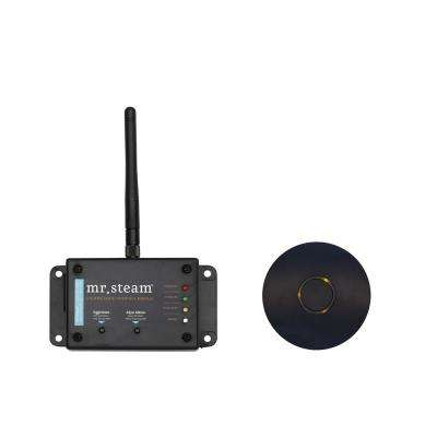 Home Automation Steam System in Black for Steam Bath Generator