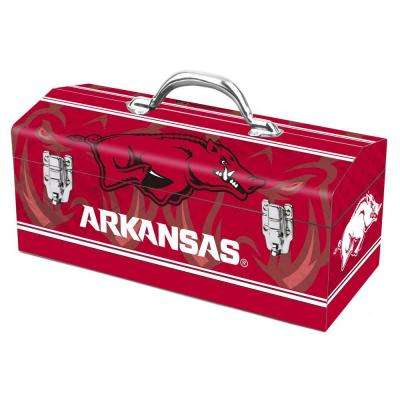 16 in. University of Arkansas Art Tool Box