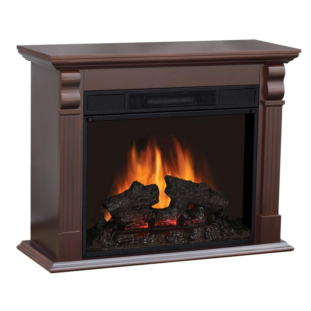 Sylvania 33 in. Electric Fireplace in Chestnut-DISCONTINUED