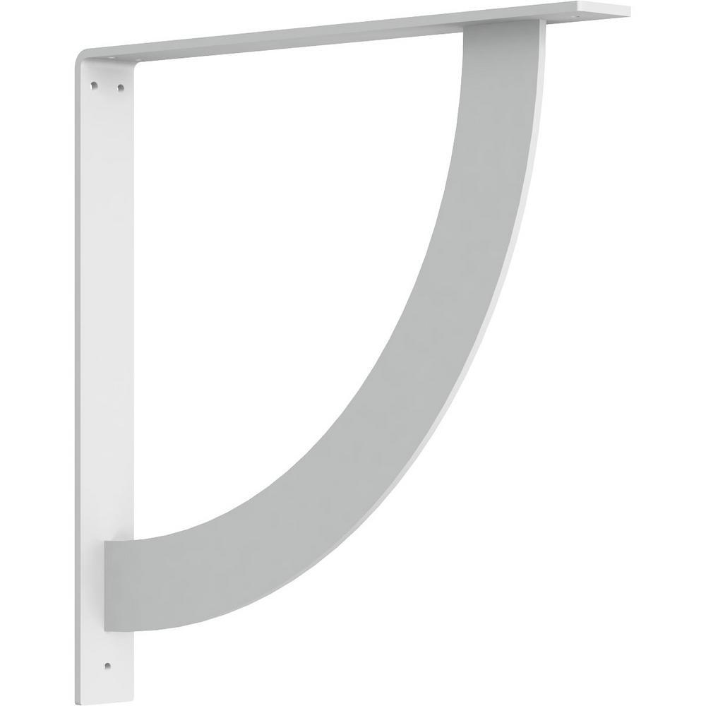 2 in. x 18 in. x 18 in. Steel White Primer