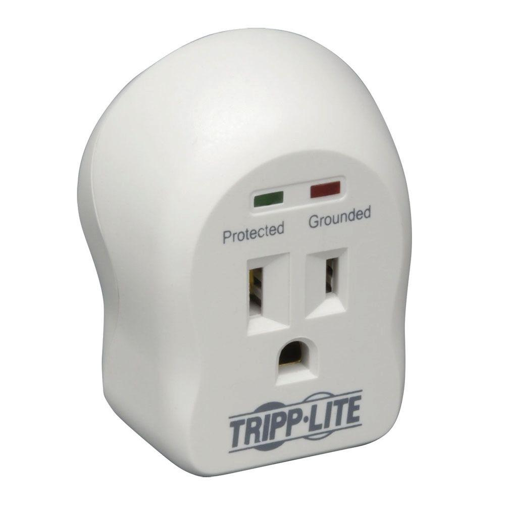 Tripp Lite Spike Cube- 1-Outlet Direct Plug-In 600 Joules Surge Suppressor