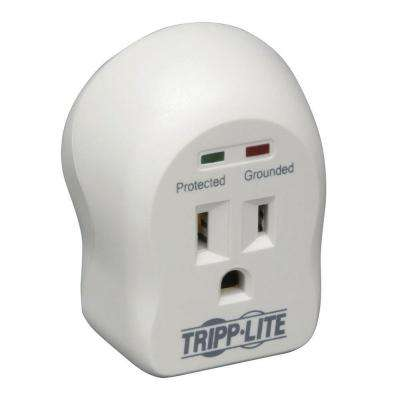 Spike Cube- 1-Outlet Direct Plug-In 600 Joules Surge Suppressor