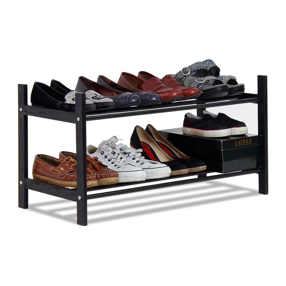 Pine Solid Wood Shoe Rack