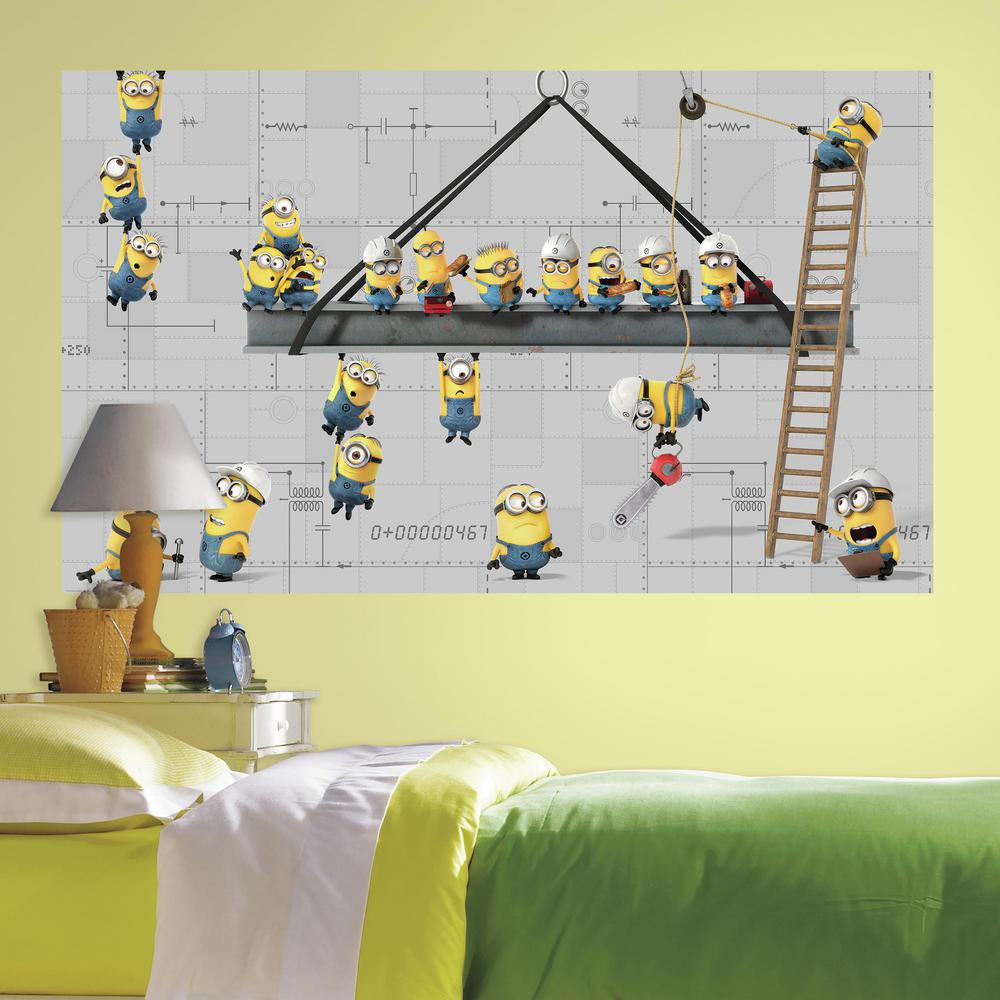 Farm Multi Peel and Stick Removable Wall Decals Barnyard Theme Mural ...