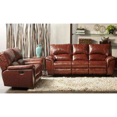 Faux Leather - Sofas & Loveseats - Living Room Furniture - The Home ...