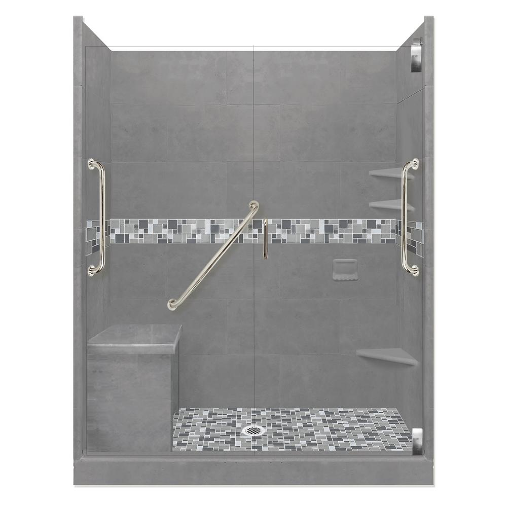Newport Freedom Grand Hinged 42 in. x 60 in. x 80