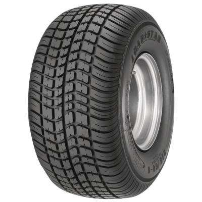 215/60-8 K399 BIAS 780 lb Capacity Galvanized 8 in. Wide Profile Bias Tire and Wheel Assembly