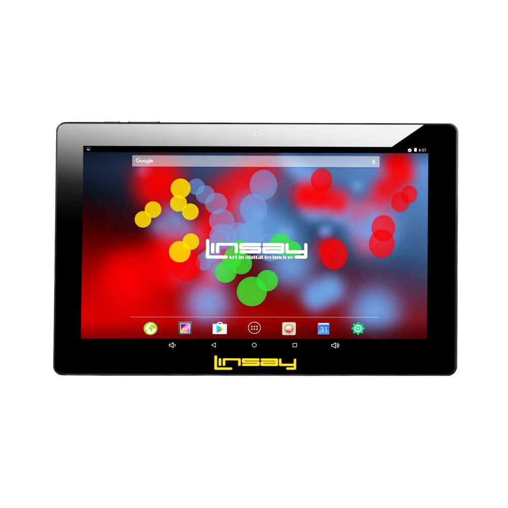 LINSAY 10.1 in. 1280x800 IPS Screen 2GB RAM 16GB Android 9.0 Pie Quad Core Tablet was $299.99 now $77.99 (74.0% off)