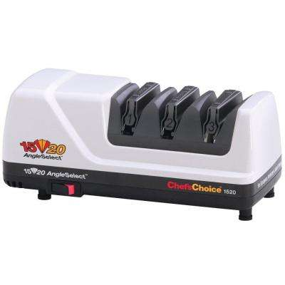 M1520 AngleSelect Diamond Hone Knife Sharpener in White