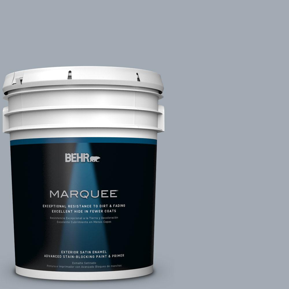5-gal. #T13-6 Twilight Satin Enamel Exterior Paint