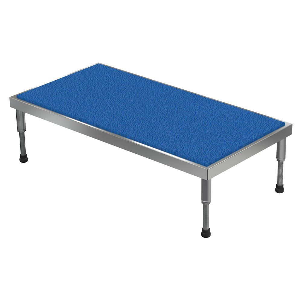 24 in. x 48 in. Aluminum Work-Mate Stand - Adjustable Height Range 9.5 in. x 15.5 in.