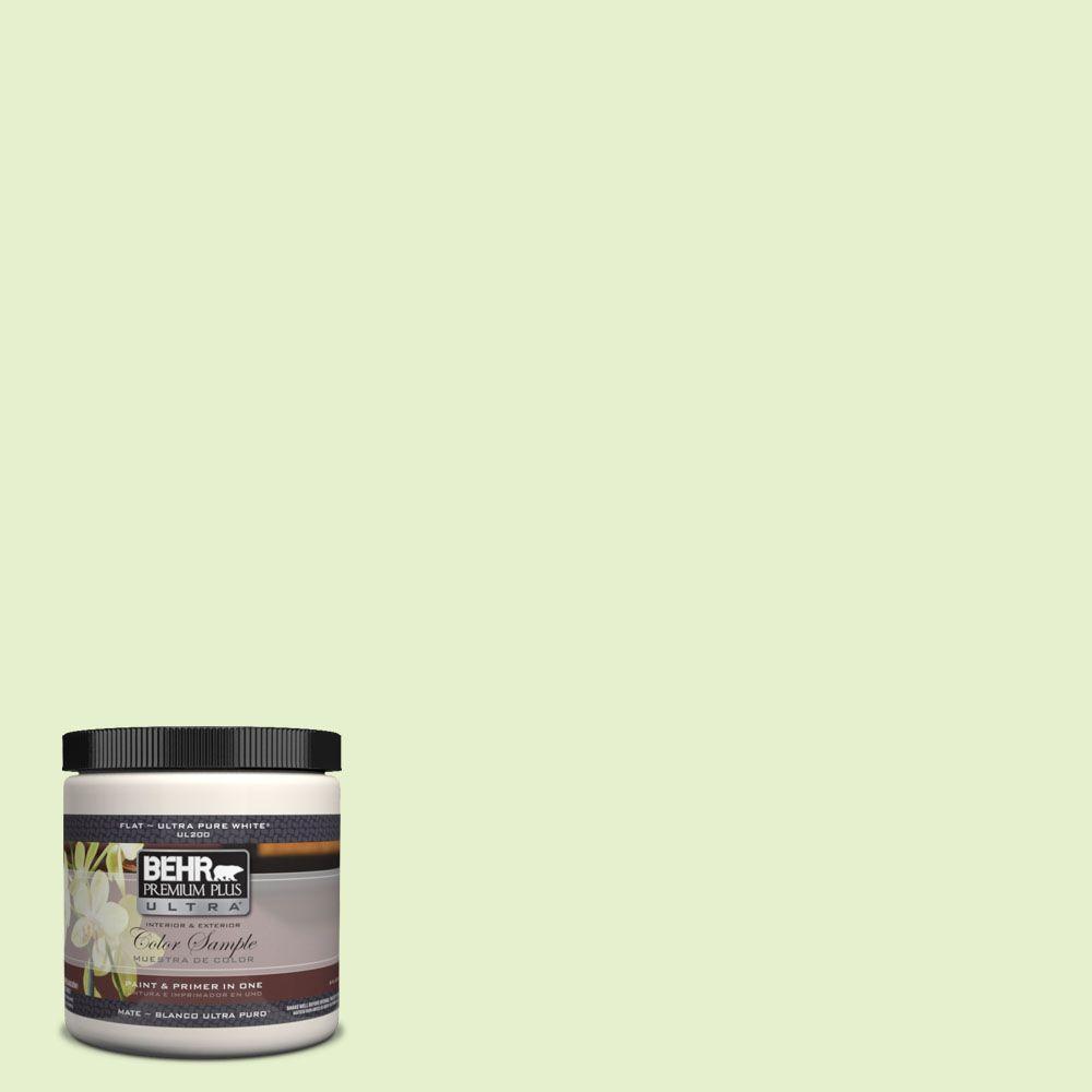 BEHR Premium Plus Ultra 8 oz. #420C-2 Water Sprout Interior/Exterior Paint Sample