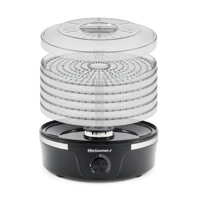 350 W Food Dehydrator with Adjustable Temperature Dial 5 Tier