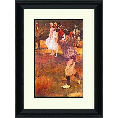 34.in x 28.in''Augusta Gentleman'' By PTM Images Framed Printed Wall Art